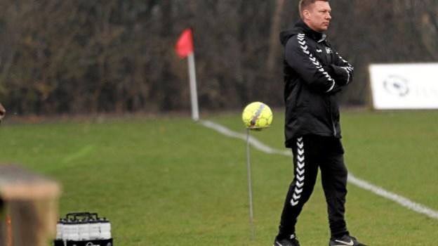 Hals' nye træner, Anders Langeland fik en godkendt premiere i serie 2. Foto: Allan Mortensen Allan Mortensen