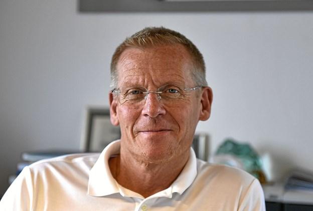 Efter 10 år i Grønland er det skønt at holde ferie i Danmark for Hanstholm Havns direktør Niels Clemensen.Foto: Ole Iversen