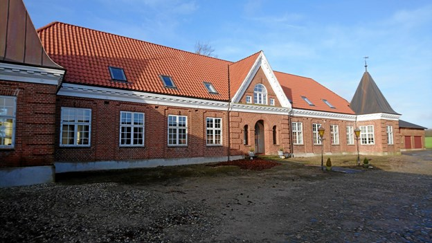Stuehuset, der tidligere var sognerådssal. Privatfoto