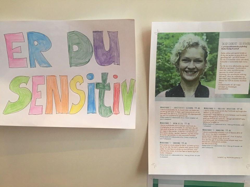 Mette Riishøj Kronholt er selv sensitiv. Derfor er det udgangspunktet for hendes fokus på selvværdstræning. Foto: Radio NORDJYSKE