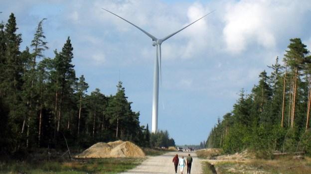 Ældre Sagen Hadsund skal blandt andet opleve de imponerende vindmøller i Østerild Testcenter. Arkivfoto