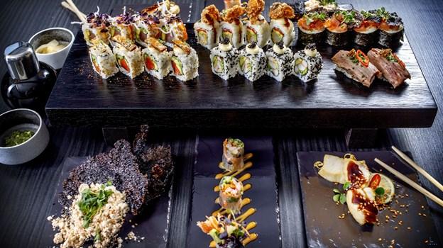 SushiMania XO forkæler både dine smagsløg og trommehinder i weekenden. Arkivfoto: Lars Pauli