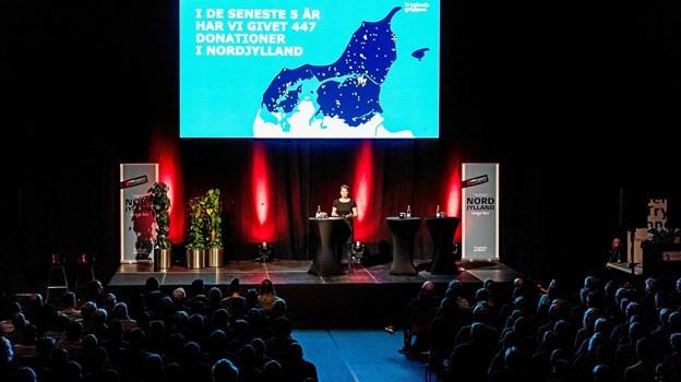 500 tilhørere var mødt frem i Arena Nord.