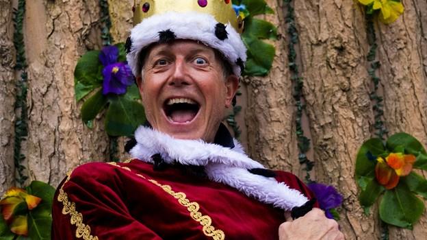 Peter Mygind er for nylig blevet kronet ved den internationale parade. Foto: Lasse Sand