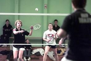 Turnering i badmintonklubben