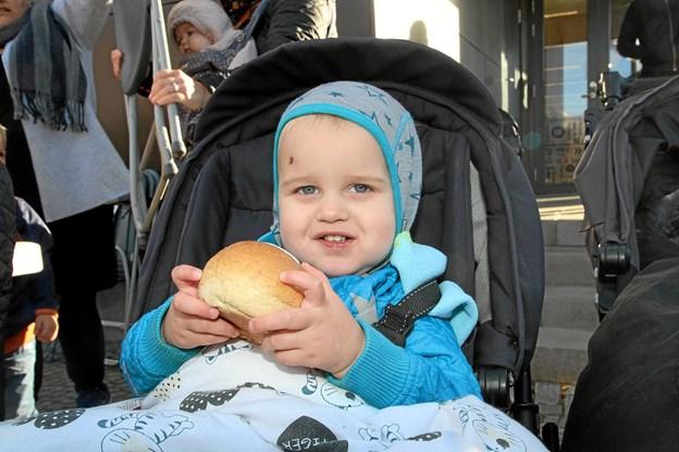 En bolle kan man da altid spise. Foto: Flemming Dahl Jensen