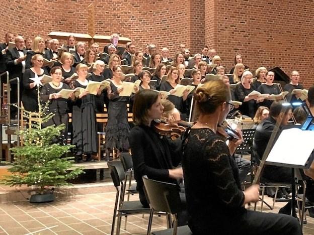 Koncerten var den klassiske musiks kulmination på fejringen af købstadsjubilæet. Privatfoto