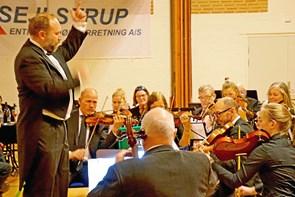 Nytårskoncert: Proppen spillede orkestret et lille puds