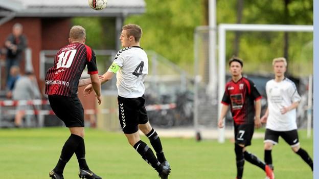 Søndagens topopgør endte 3-3. Foto: Allan Mortensen Allan Mortensen