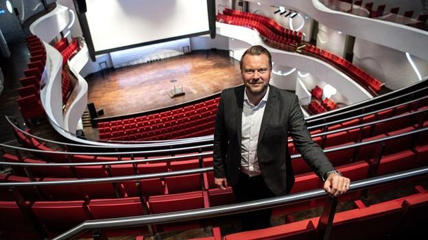 Lasse Rich Henningsen har været direktør i Musikkens Hus siden 2012. Arkivfoto: Laura Guldhammer