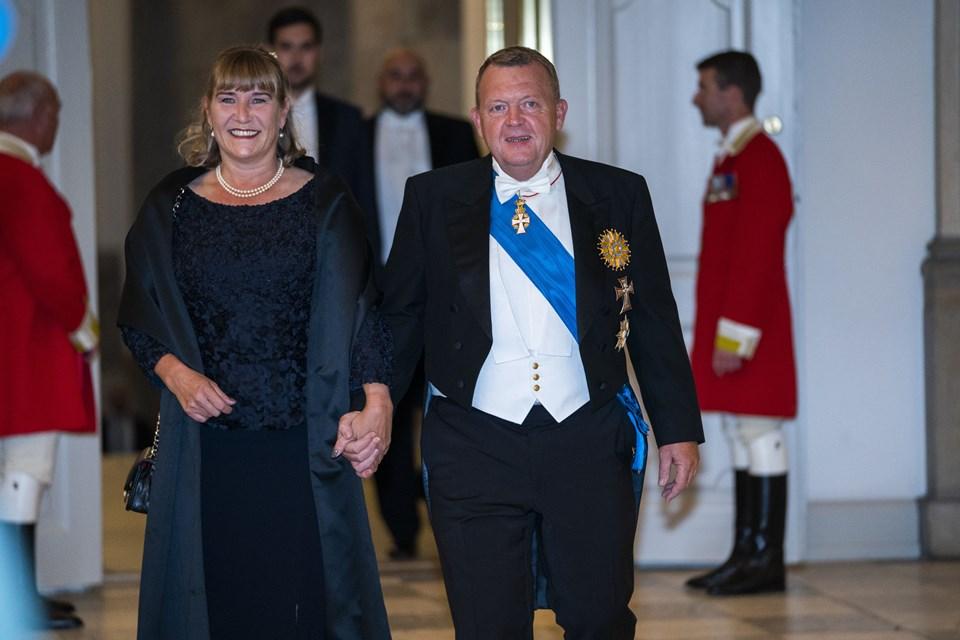 Lars og Solrun Løkke Rasmussen. Foto: Martin Sylvest/Scanpix Ritzau