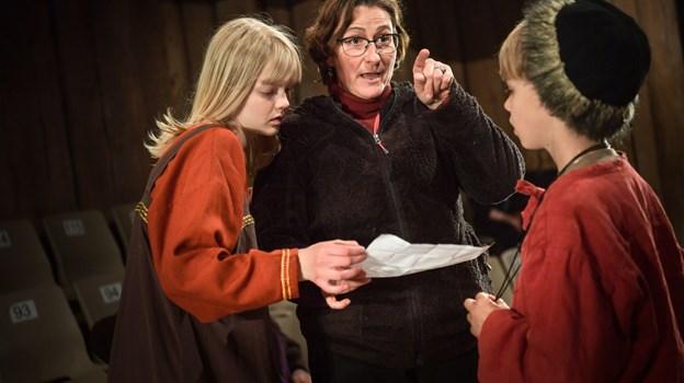 Instruktør Nynne Karen Nørlund Steenild skal - sædvanen tro for Fyrkatspillet - instruere både børn, unge og voksne.