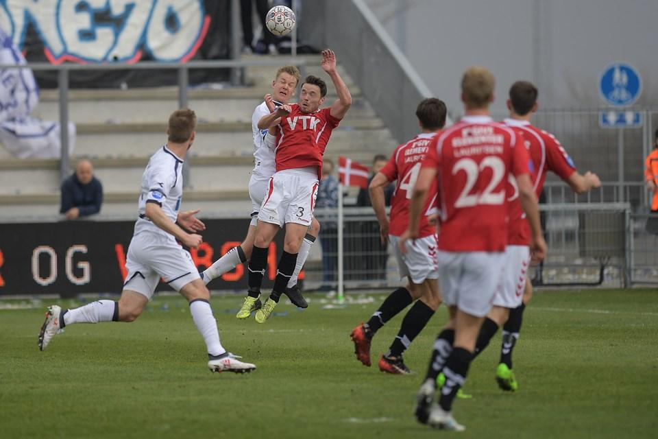 Vejle vandt topkampen i Hjørring. Foto: Peter Broen