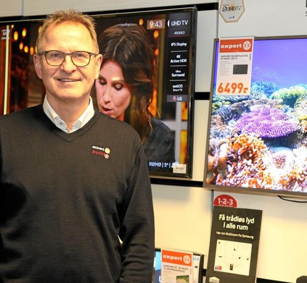 Bo Kølby Nielsen er klar til en spændende fremtid. Foto: Flemming Dahl Jensen