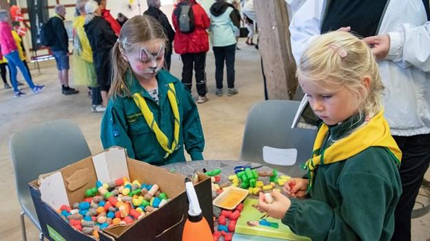 Der var også tænkt på aktiviteter til børnene. Foto: Kim Dahl Hansen Foto: Kim Dahl Hansen