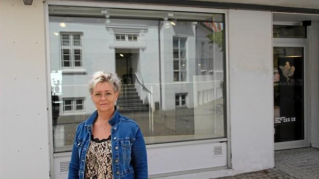 Butikken i Hurup åbner 1. juli. Foto: Hans B. Henriksen