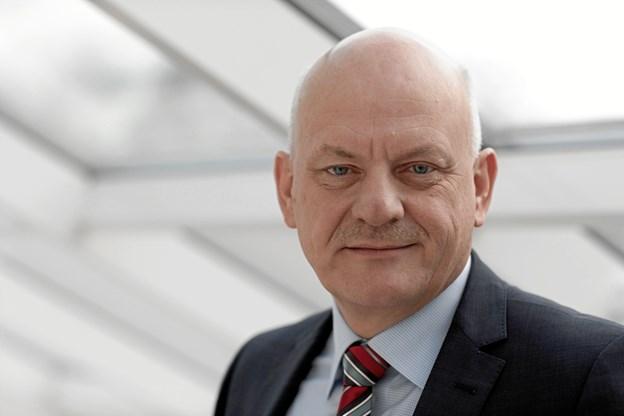 Med endnu et rekordresultat mener vi, at kursen er rigtig, siger Vagn Hansen, administrerende direktør i Sparekassen Vendsyssel
