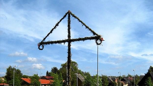 Mahbøg-festen er en tradition i Astrup. De seneste 10 år har Borgerforeningen været medarrangør. Foto: Privat Privat