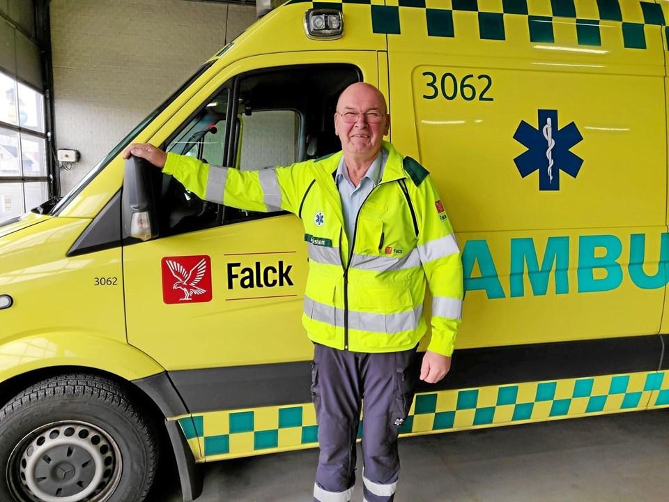 Nu tidligere Falckredder Olav S. Jensen har altid været parat til at give en hjælpende hånd såvel på arbejde som i fritiden. Foto: Tommy Thomsen