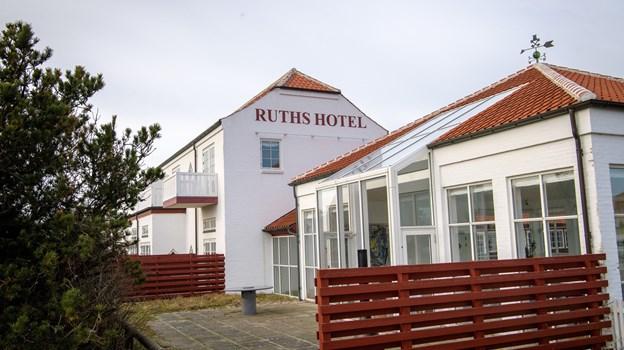 Ruths Hotel nåede i 2018 et rekordoverskud.Arkivfoto: Peter Broen.