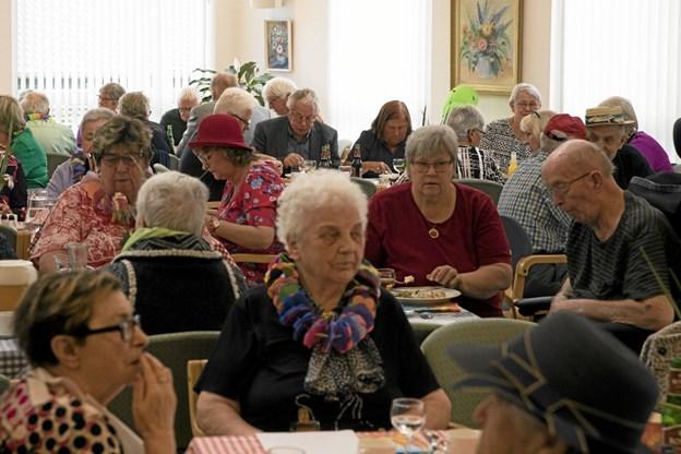 60 deltagere hyggede sig. Foto: Allan Mortensen Allan Mortensen