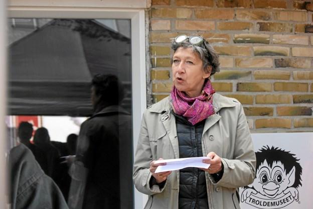 Lene Ryssel repræsenterede firmaet Kvorning Design & Kommunikation. Foto: Flemming Dahl Jensen Flemming Dahl Jensen