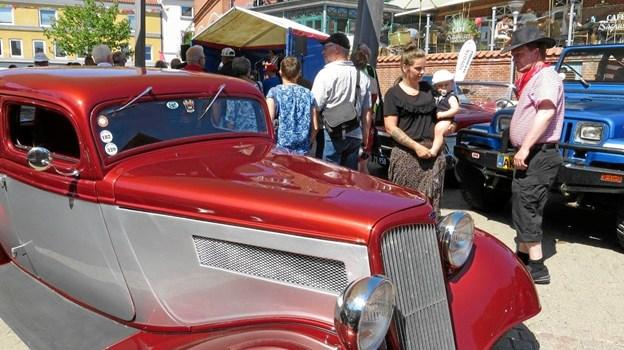 Og ikke uden grund er der altid rigtig mange flotte amerikaner-biler at se på. ArkivFoto: hhr-freelance.dk