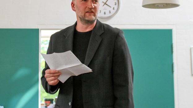 Tale ved forstander Svend Aage Nielsen