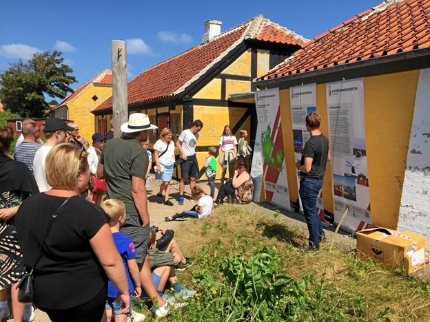 Børn og voksne kan deltage i en række formidlingsaktiviteter som her på Kystmuseet i Skagen. Privatfoto.