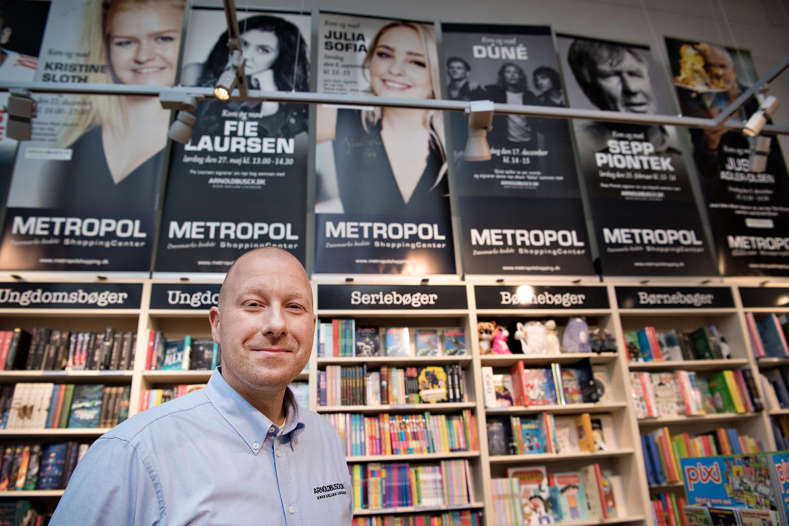 boghandler i hjørring