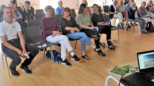 Deltagerne på sommerkurset i Vester Thorup kom fra hele landet og fik i løbet af ugen sat fokus på bæredygtighed og naturbevarelse. Foto: Vester Thorup Højskole