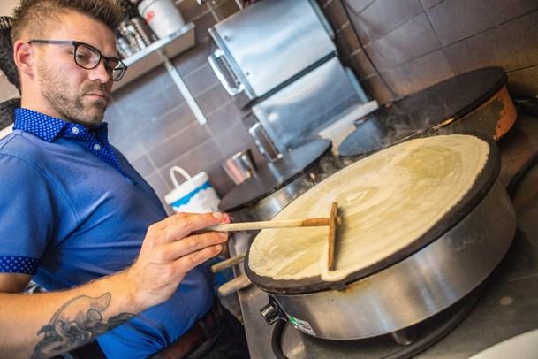 Lækkerier i ferien: Pandekagehuset kører også på fuldt blus i vinterhalvåret