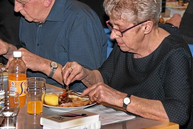 Det' ikk' så ring' endda! Når en nordvestjyde siger sådan om maden så er det nemlig rigtig godt. Foto: Hans B. Henriksen Hans B. Henriksen