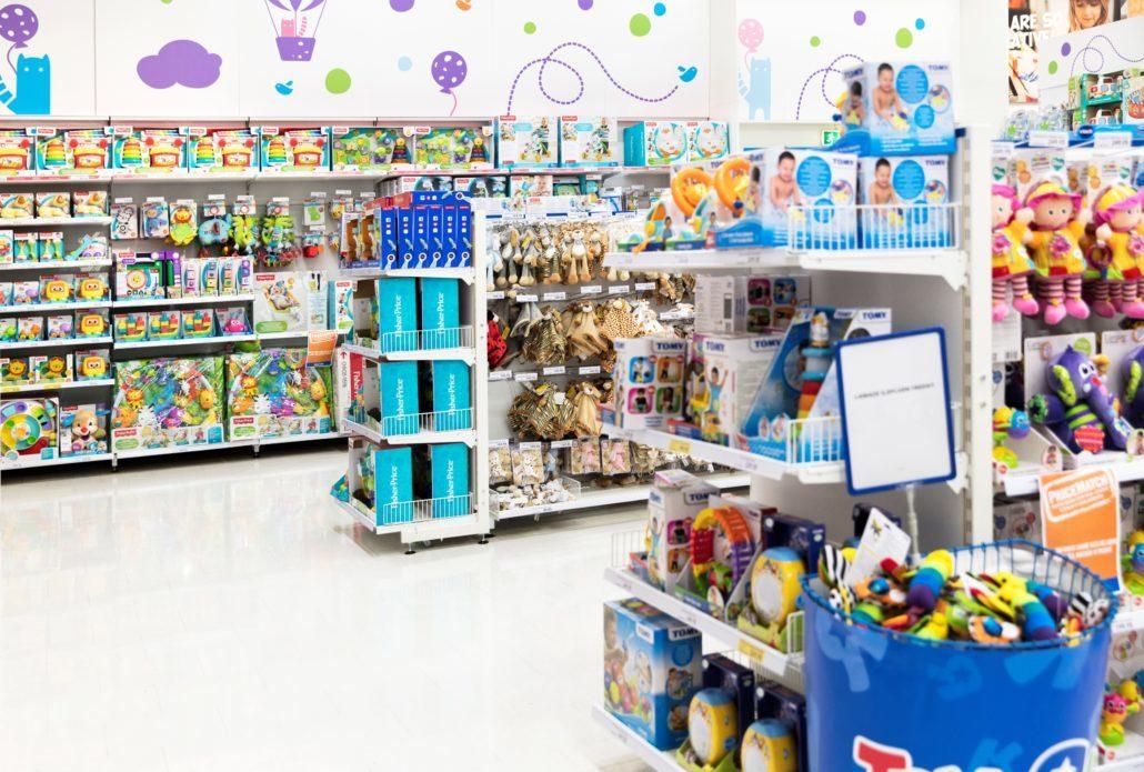 """For en tid kan du igen gå på legetøjsjagt i Toys""""r""""us i Aalborg. PR-foto: Top-Toy"""