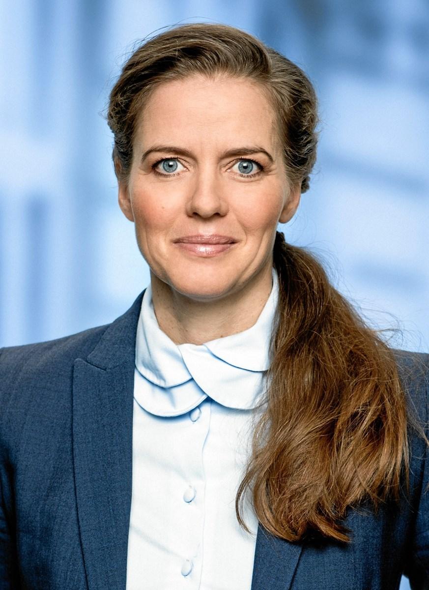 Sundhedsminister Ellen Trane Nørby - vigtigt at gøre noget ekstra for de særligt sårbare diabetespatienter.  Arkivfoto