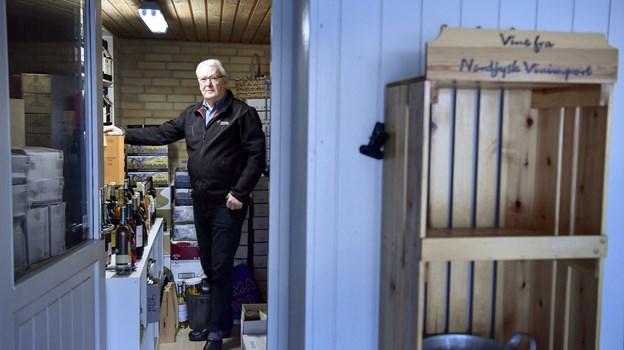 Hyttel og hans familie elsker Portugal - og det er gensidigt. Portugals vinbønder er glade for Nordjysk Vinhandels mange bestillinger - og den flittige import af de dejlige dråber til Danmark - højt mod nord. Foto: Michael Koch