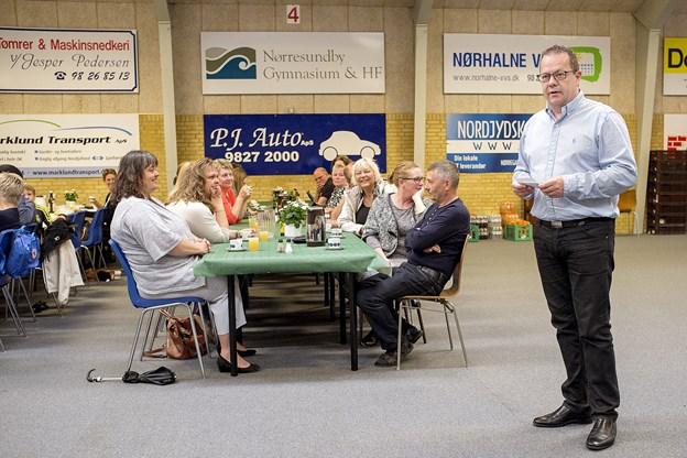 Der var genvalg af Claus Svendsen som formand for IFN. Arkivfoto: Lars Pauli