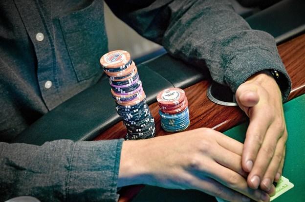 Onsdag aften var det slut med high-stack og all in i Thy Poker. Efter 10 er det slut med lovligt poker i Thy. Foto: Ole Iversen Ole Iversen