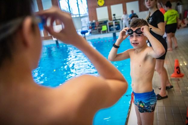 Svømmeklubben BSK08 havde Flipper Cup, hvor syv klubber fra Vendsyssel deltog. Foto: Martin Damgård Martin Damgård