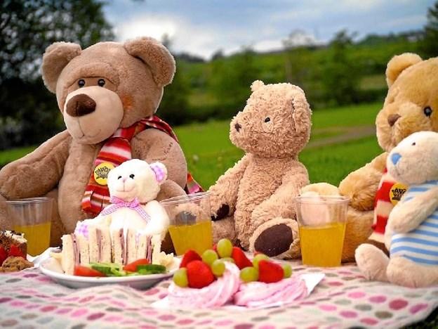 Den 29. oktober er der international bamsedag - og det fejres også i Jammerbugt. Privatfoto