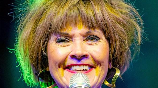 Anne Karin Broberg var næsten på hjemmebane. Hun er oprindeligt fra Nykøbing Mors og startede sangkarrieren i 1981, da hun var frisørelev i Nykøbing.Privatfoto Ole Iversen