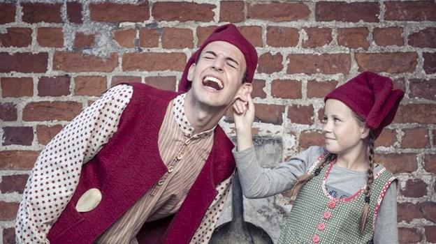 Jul på Slottet blev vist på tv første gang i 1986 og er siden genudsendt flere gange - derfor kan flere generationer genkende historien og nynne med på sangene. PR-foto