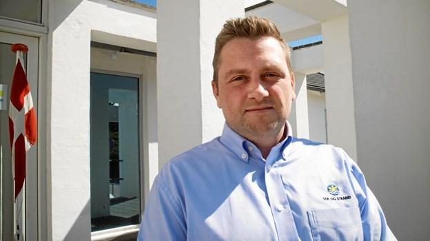 Emil Klastrup er ny bureauchef for Sol og Strand i Blokhus. Pressefoto