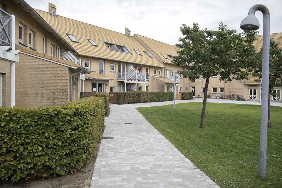 Horsøparken i Hobro er en afdeling under Hobro Boligforening med 130 lejemål.