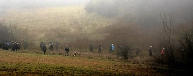 Kort tid efter ankomsten forsvandt hele flokken ud i tågen. Privatfoto