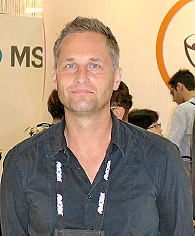 Hjerteoverlæge Peter Bisgaard Stæhr fortalte om forkammerflimren, hvad det er, og hvad der kan gøres ved det. Foto: Privatfoto