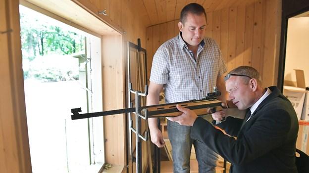 Der er tradition, at Brønderslev Borgerlige Skyttelaug en gang årligt har fugleskydning. Arkivfoto: Bente Poder