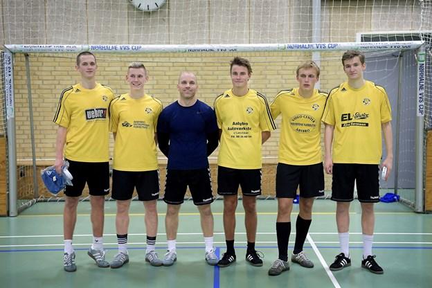 Aabybro IF vandt Nørhalne VVS Cup. Foto: Lars Pauli