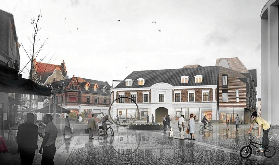 Prisen ventes at blive på cirka 130 millioner kroner. ILLUSTRATION: arkitektfirmaet C. F. Møller, Aalborg