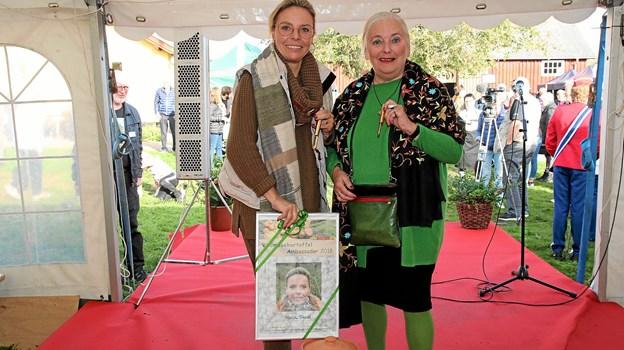 Malou Skeel afløste Grethe Rolle som Vildmosekartoffelambassadør.